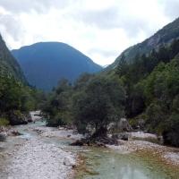 Familienfahrt zur Soca - Sommer - 2015 1. Teil