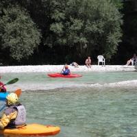 Familienfahrt zur Soca - Sommer - 2015 2. Teil