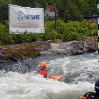 Wildwassertraining in Hohenlimburg 1.05.2018
