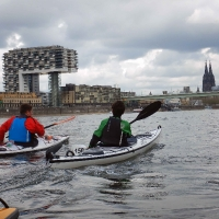 NRW Rallye 2019 auf dem Rhein